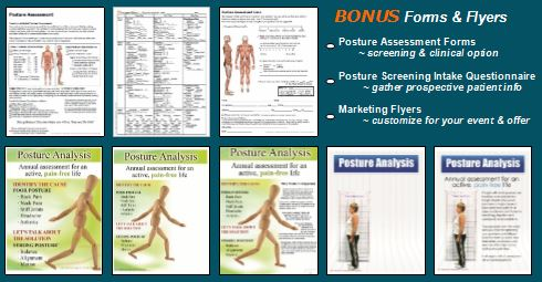 Posture Pictures - Posture Assessment, Screenings, Marketing  Forms - free assessment forms