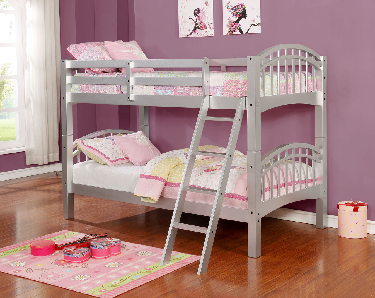 Stackable Twin Beds 45216 Flynn Twin Twin Stackable Bunkbed Bella Esprit