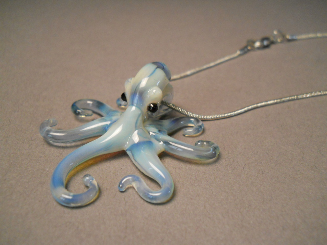 Octopus Glasses Glass Octopus Pendant