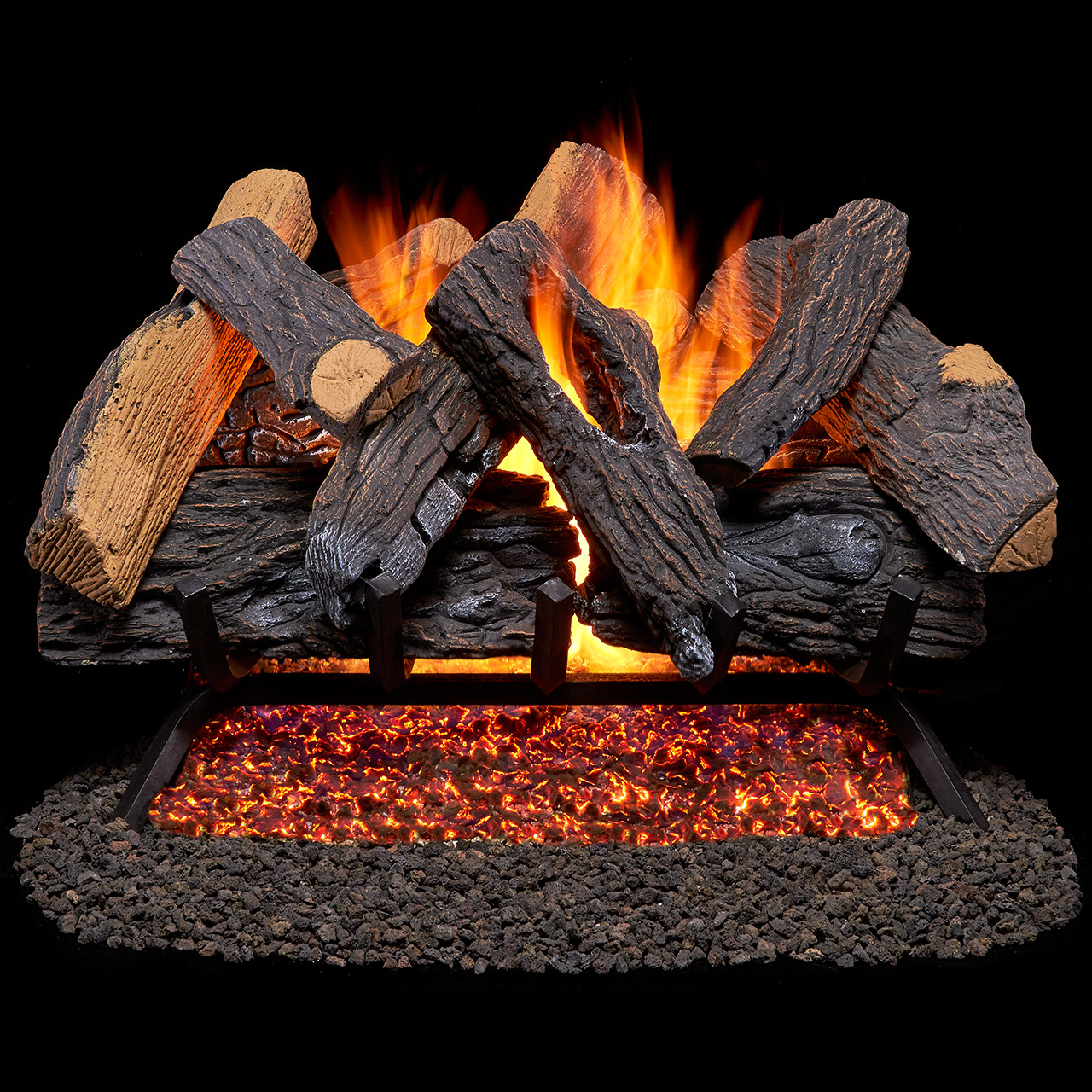Ceramic Logs For Gas Fireplace Gas Log Gas Log Sets Fireplace Log Sets Factory Buys Direct