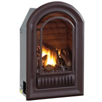 HearthSense A-Series Liquid Propane Ventless Fireplace ...