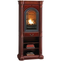HearthSense Liquid Propane Ventless Gas Tower Fireplace ...