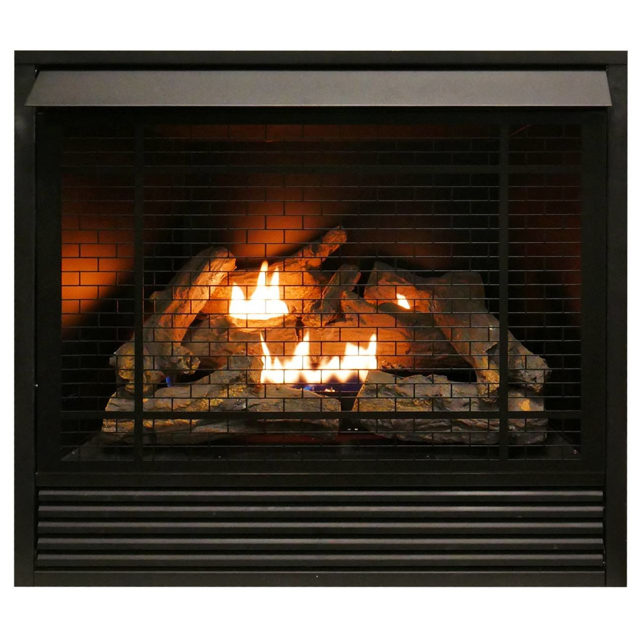 Wholesale Fireplace Inserts Duluth Forge Dual Fuel Ventless Fireplace Insert 32 000 Btu Remote Control Fdi32r A