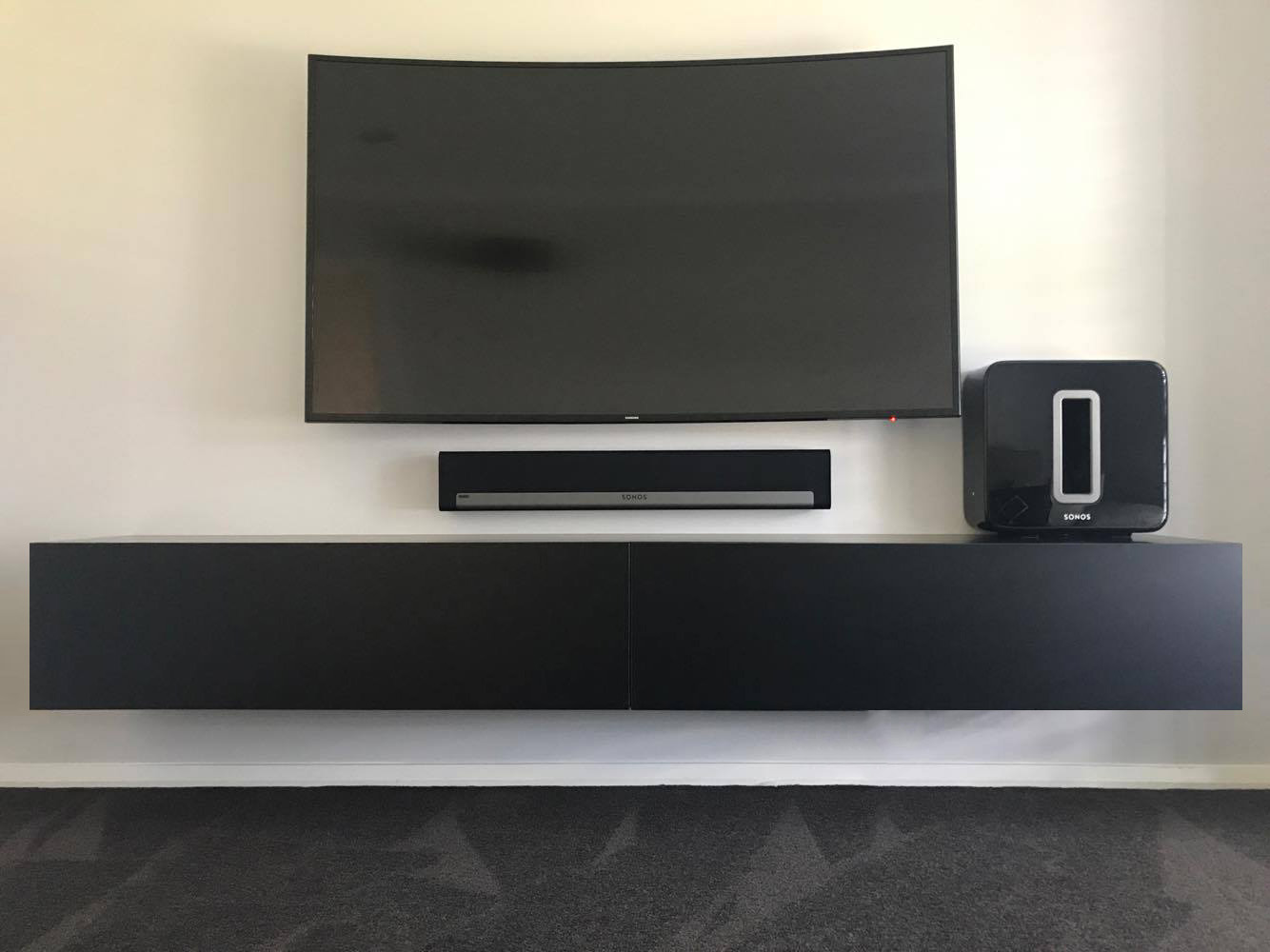 Floating Wall Mounted Tv Unit Tv Units Photo Gallery
