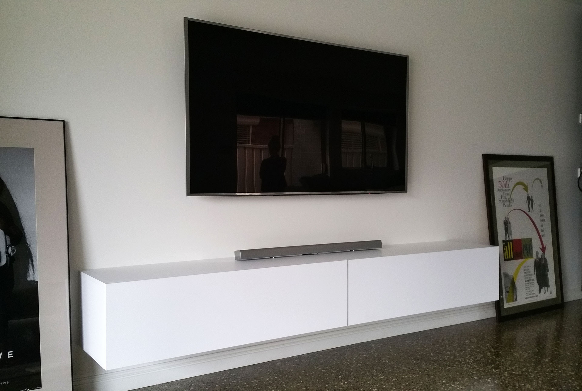 Floating Wall Mounted Tv Unit Modern Floating Tv Entertainment Units And Tv Cabinets Tv