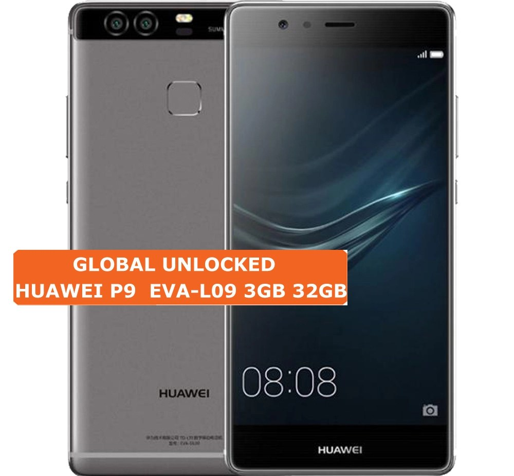 Huawei Smartphone Huawei P9 3gb 32gb Eva L09 12mp Single Sim Android 6 4g Smartphone