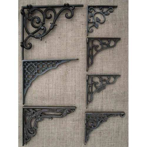 Medium Crop Of Cast Iron Shelf Brackets