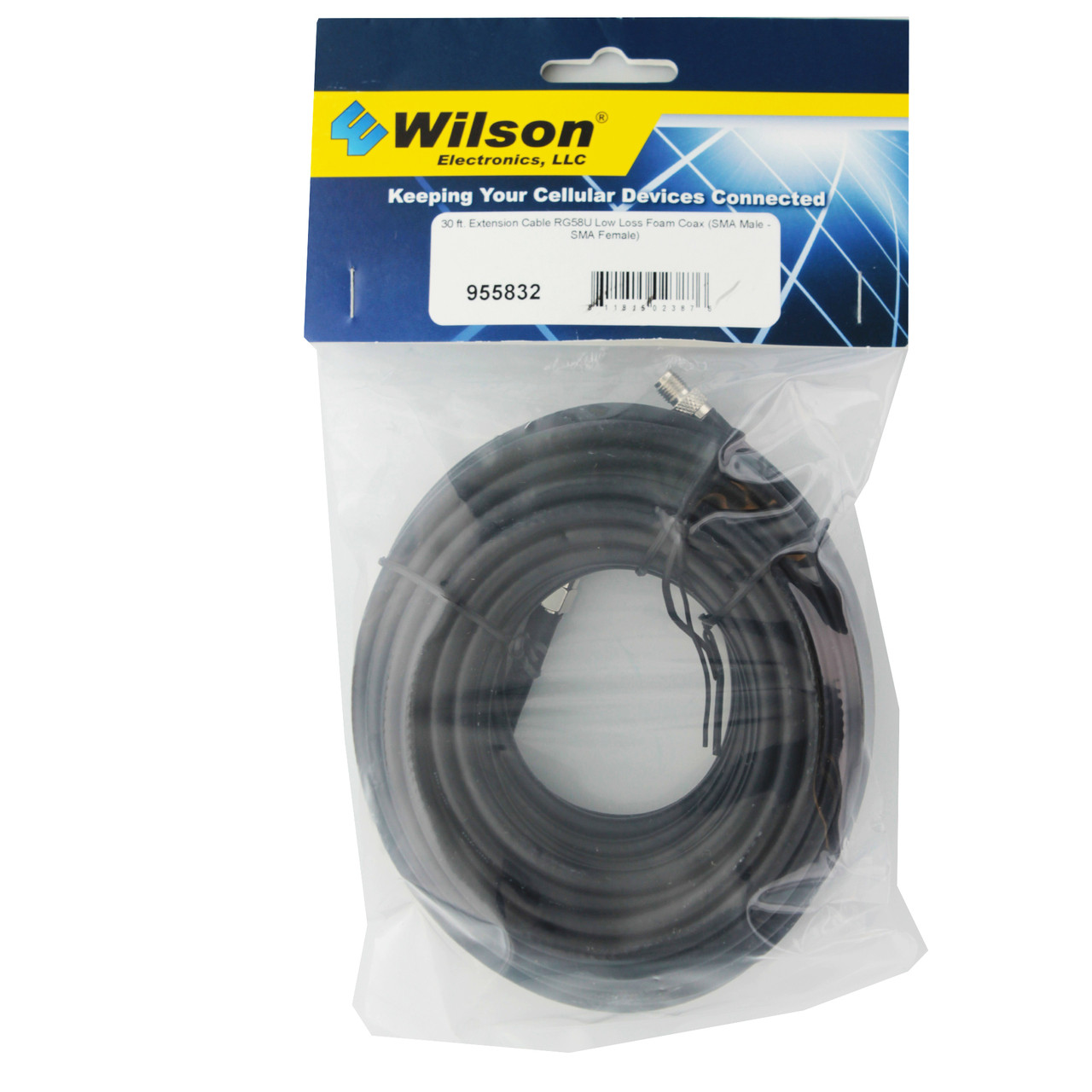 Coaxial Cable Wilson 30 Rg58 Coax Cable Sma Male Sma Female 955832