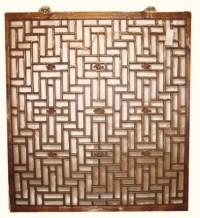 Antique Window Chinese Lattice Design | Oriental Furnishings