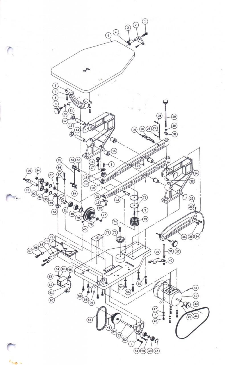scroll saw diagram