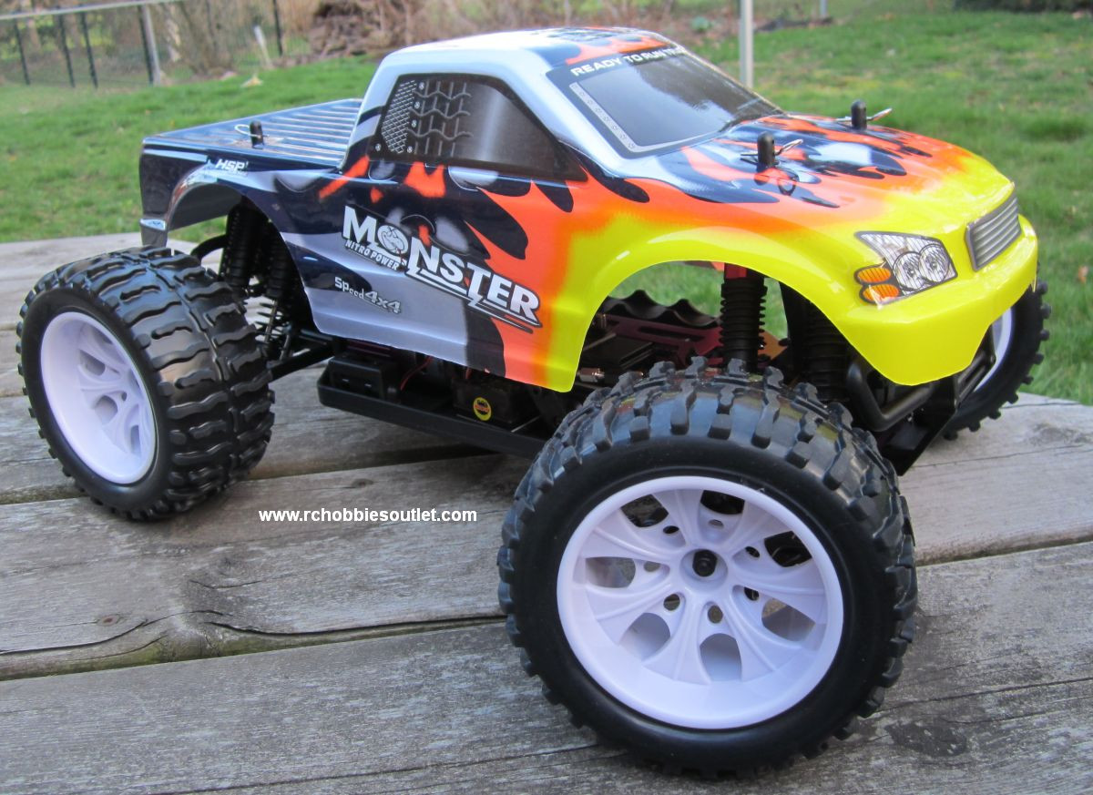 Rtr Rc Trucks Electric Rc Truck Electric 1 10 Scale 4wd 2 4g Off Road Rtr 25188