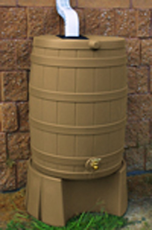 Medium Of Rain Barrel Stand