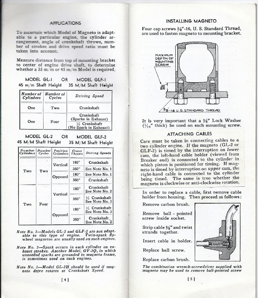 bendix magnetos cap wire diagram