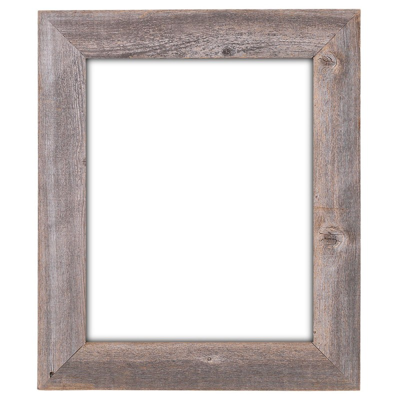 Pretty Image Frames Barnwood Reclaimed Wood Extra Wide Wall Frame 16 ...
