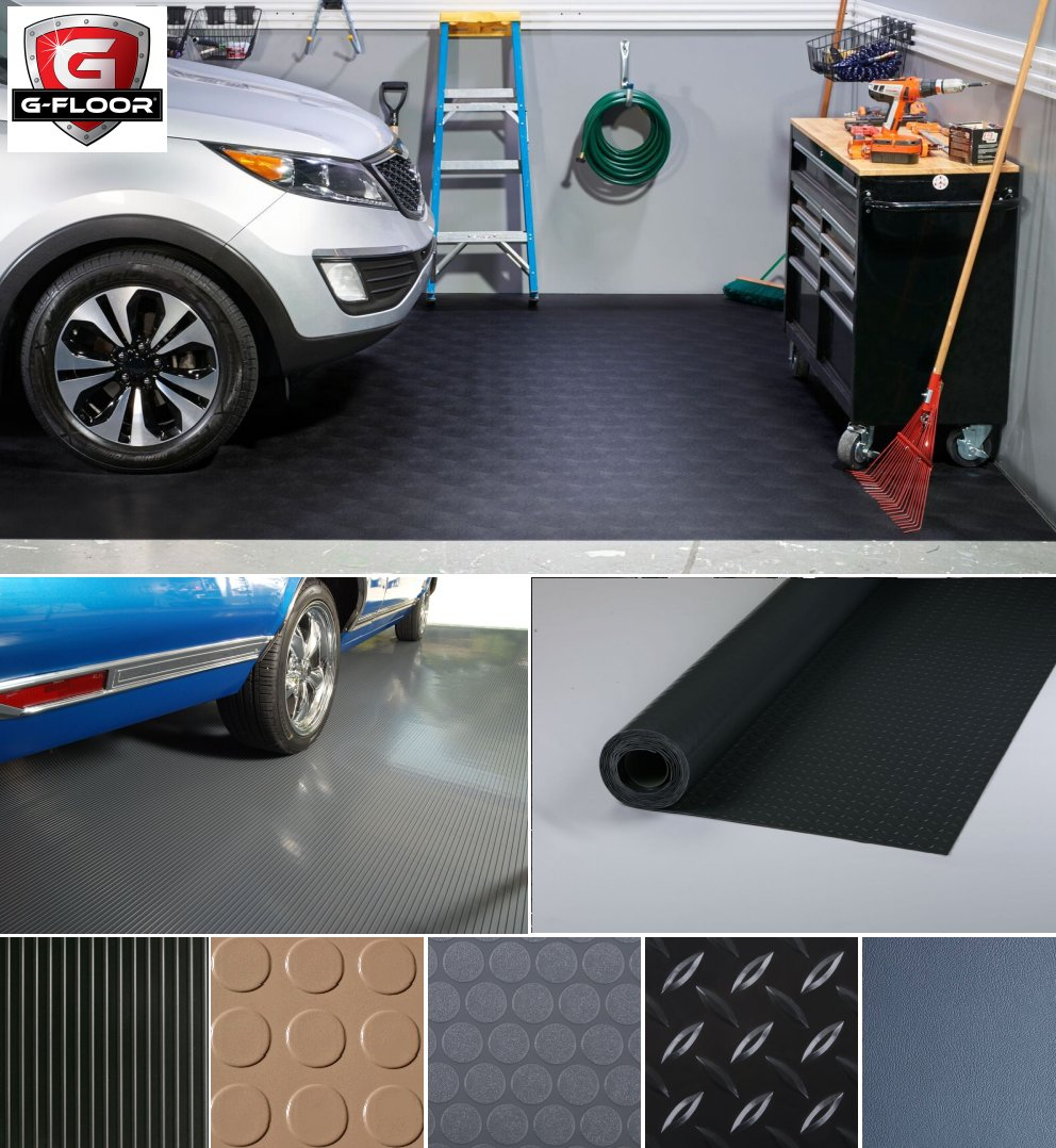 G Floor Garage Vinyl Floor Covering Better Life Technologies