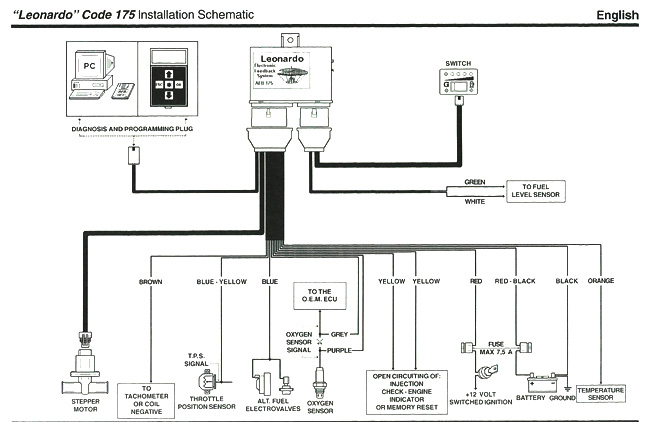cng wiring diagram
