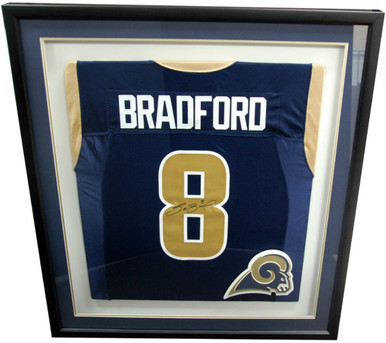 St Louis Rams Jersey Shadow Box Military Memories And More