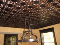 "Casablanca - Faux Tin Ceiling Tile - Glue up - 24""x24"" - #142"