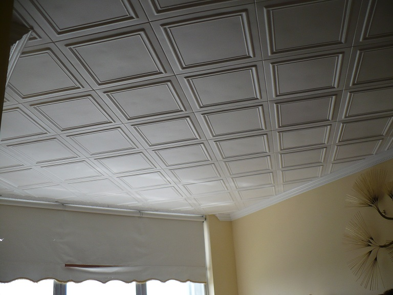 Styropor Decke Styrofoam Ceiling Tiles Finished Projects Images | Photo