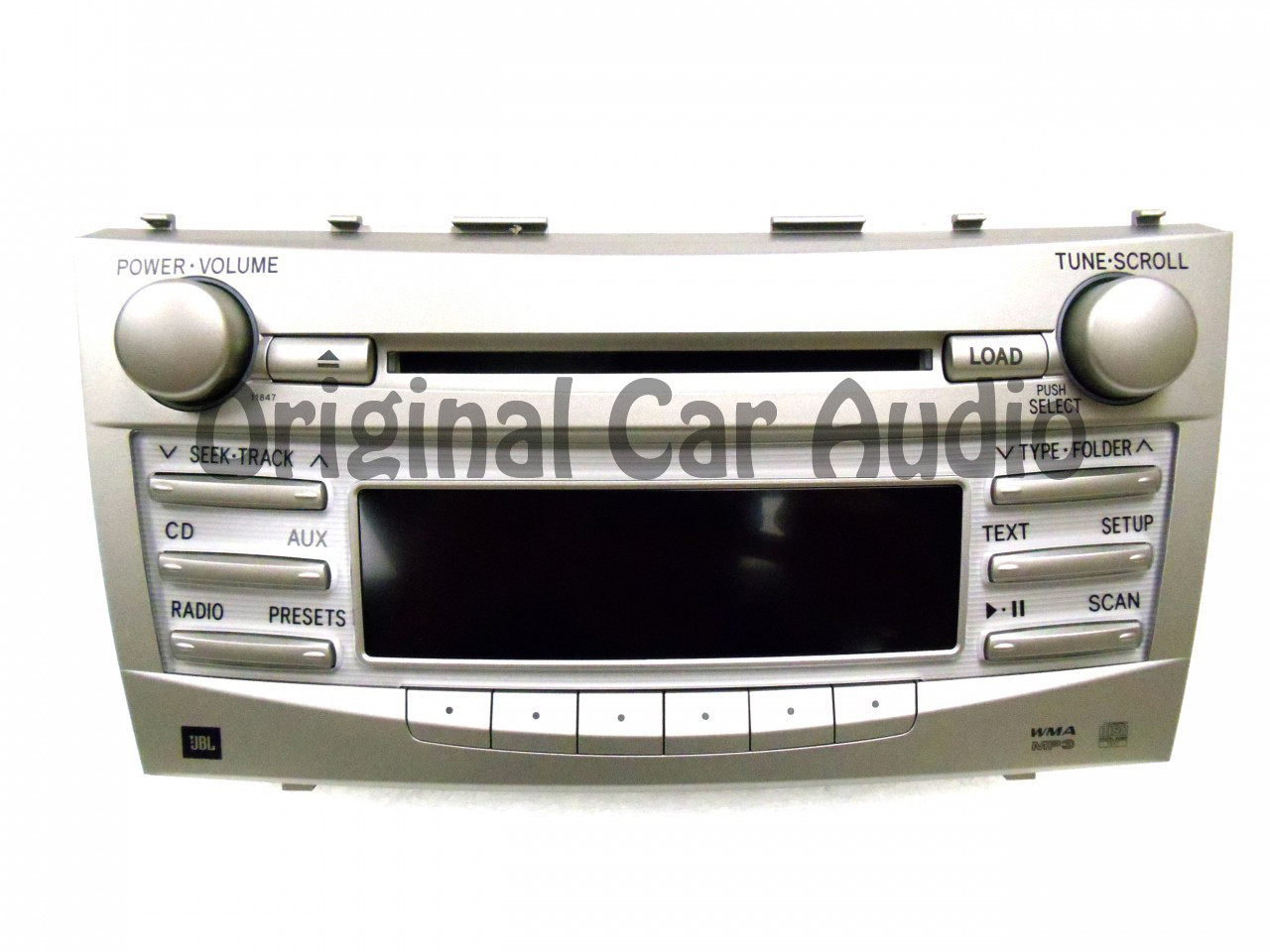 Jbl Radio Toyota Camry Jbl Radio Stereo 6 Disc Changer Mp3 Cd Player