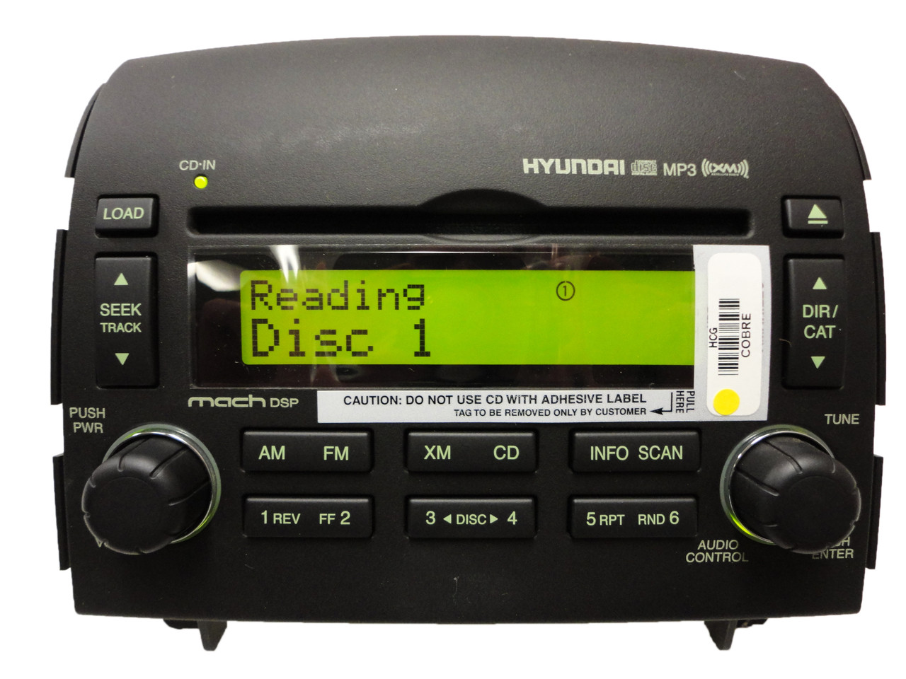 Radio-cd-player Für Badezimmer New Hyundai Sonata Oem Xm Satellite Radio Stereo 6 Disc