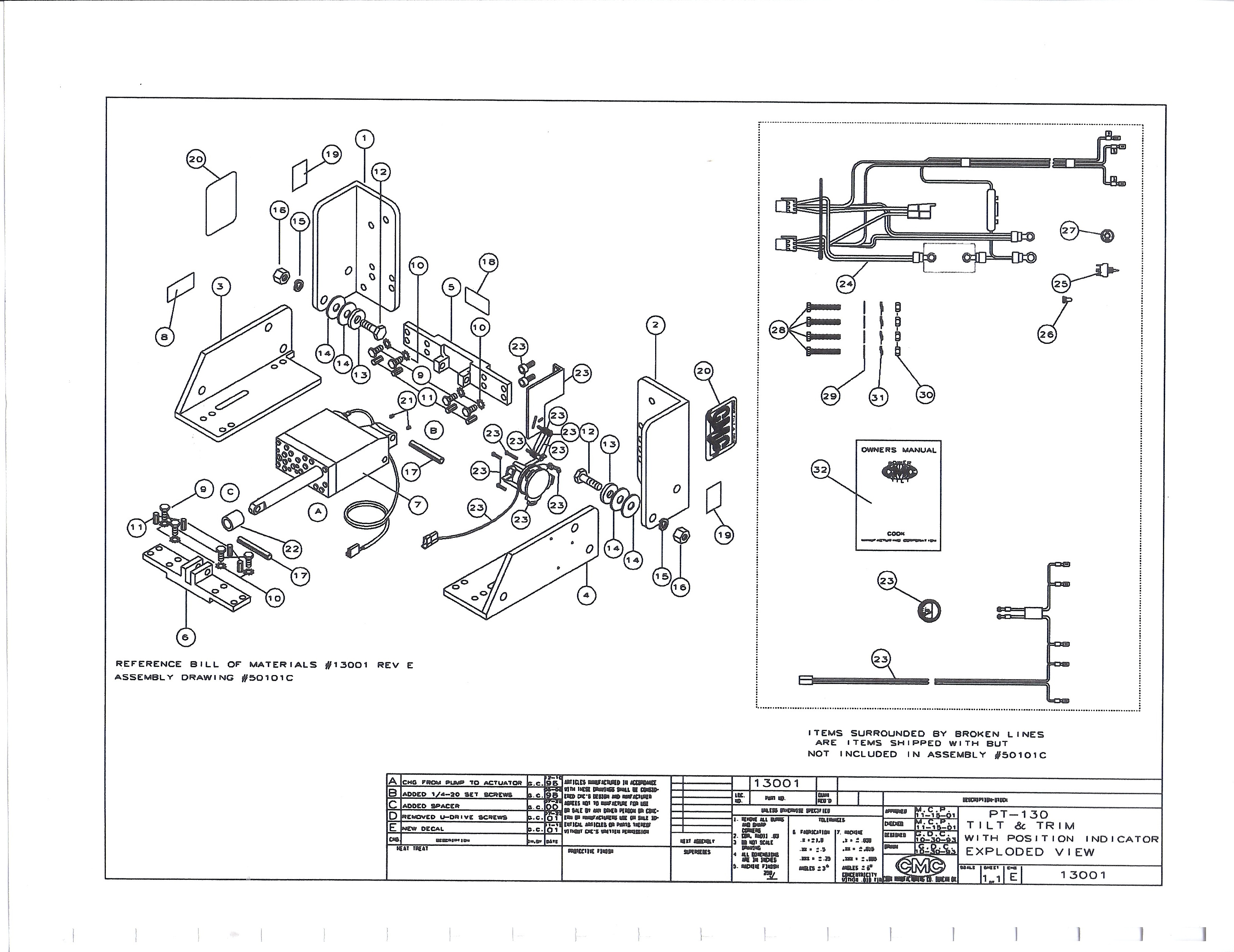 For Atlas Jack Plate Wiring Harness Auto Electrical Diagram Cmc 29 Images