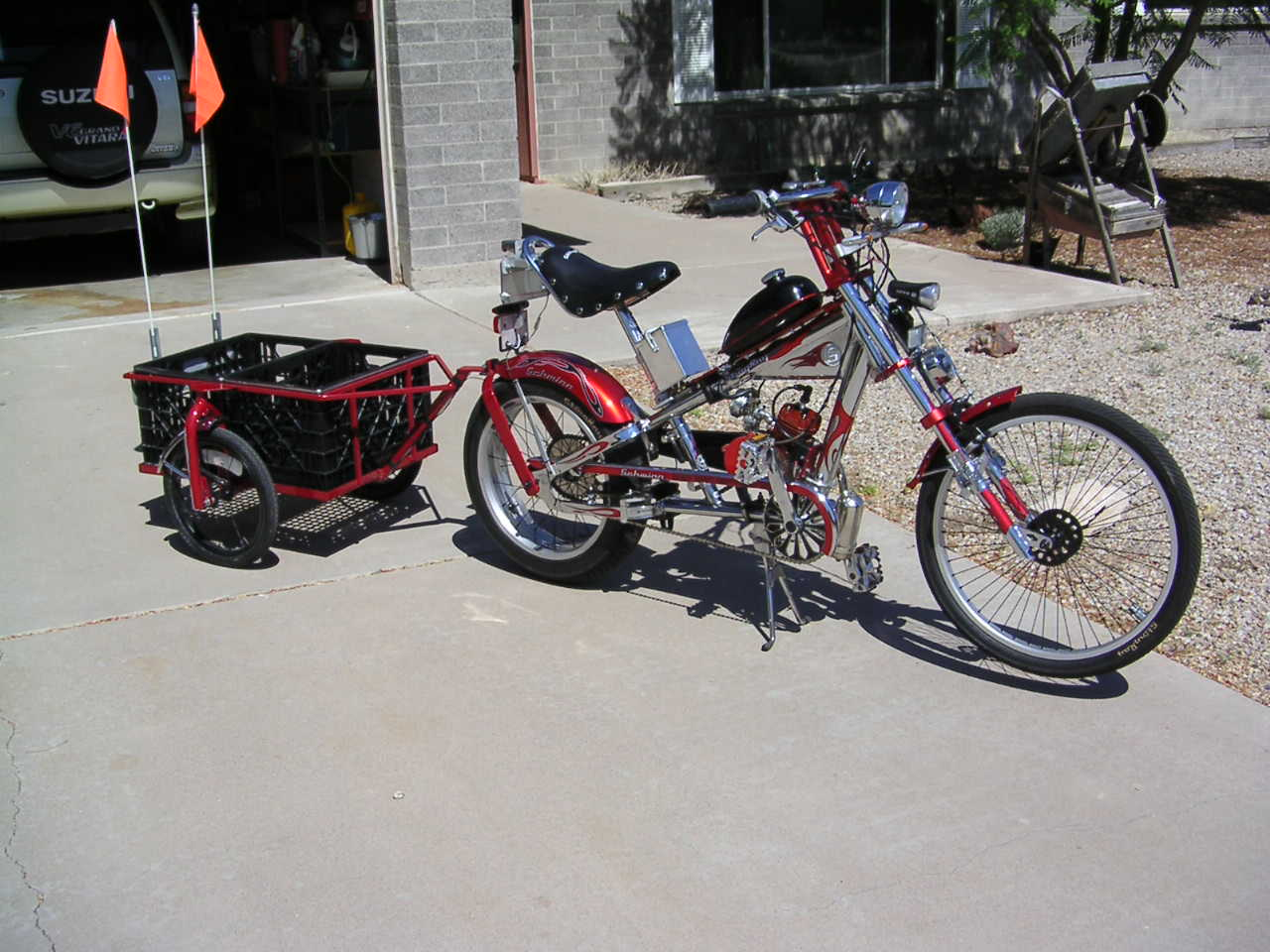 Chopper Motor Pictures Of Motorized Bicycles Bicycle Motor Kits Gas