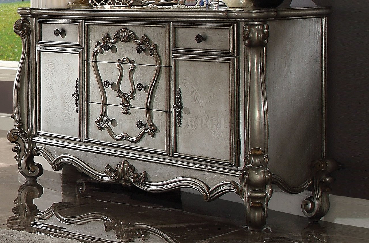 Valencia Buffet Sideboard Versailles Platinum Server Buffet
