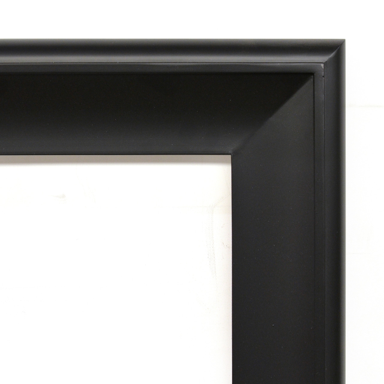 Foto 30x40 Silvery Woods Frame 30x40 Flat Black With Tarnished Silver