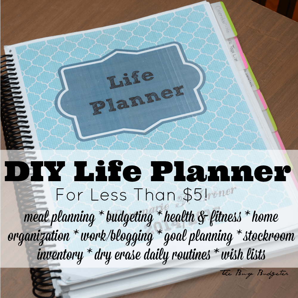 Dry Erase Wall Calendar Staplesr Diy Life Planner For Less Than 5 The Busy Budgeter