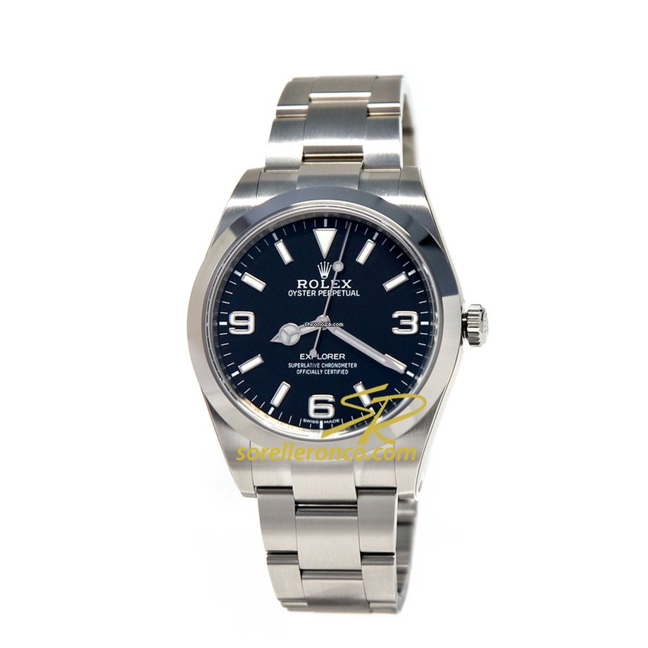 Rolex Explorer Rolex Explorer I 39mm Chromalight Blue