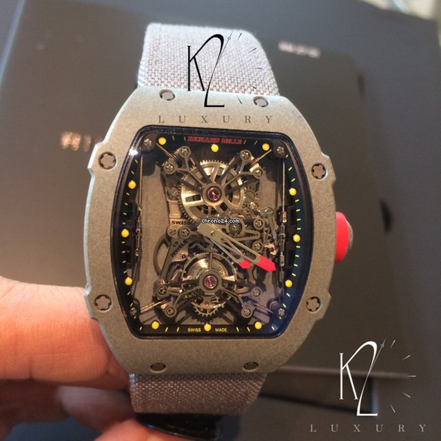 Hublot Uhren Richard Mille Rm27-01 Tourbillon Rafael Nadal Ltd Edition