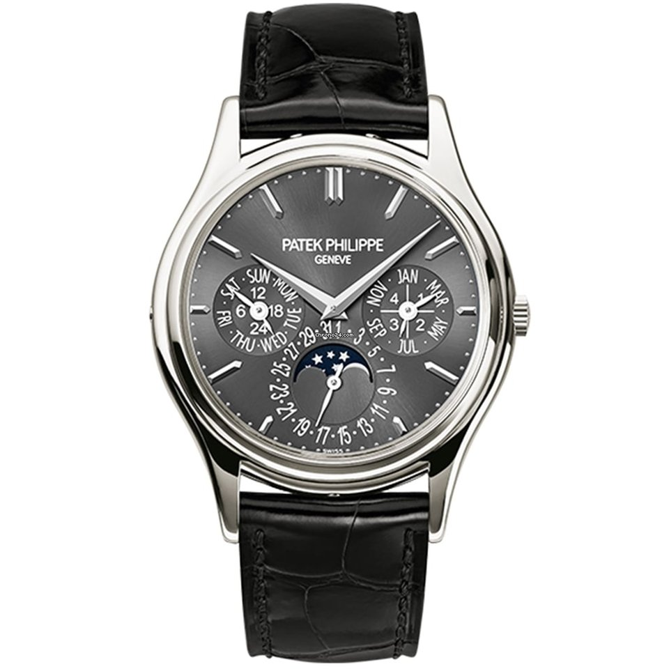 P Philippe Watch Patek Philippe Grand Complications 37mm Perpetual Calendar Moonphase 5140p