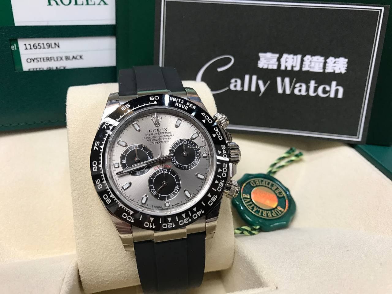 Rolex Rubber Rolex Cally New 116519ln Rubber Ceramic Daytona 2019 New