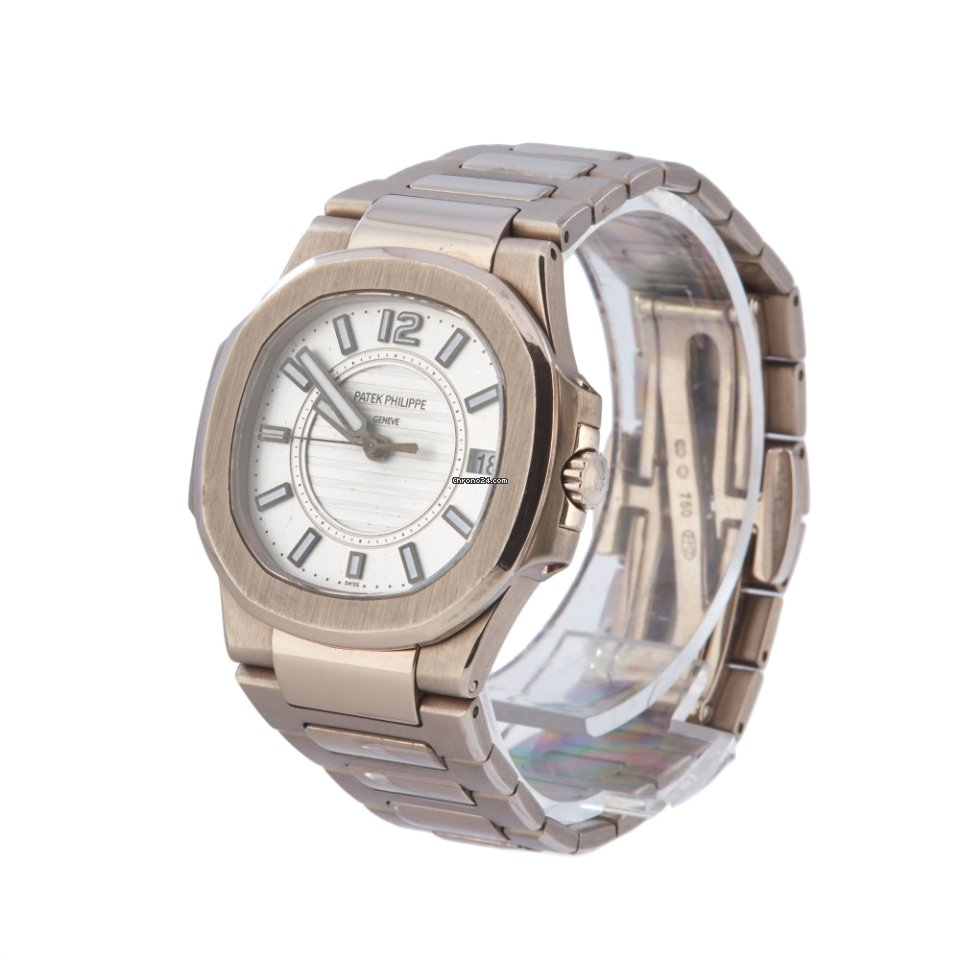 Christ Damenuhren Patek Philippe Nautilus White Gold