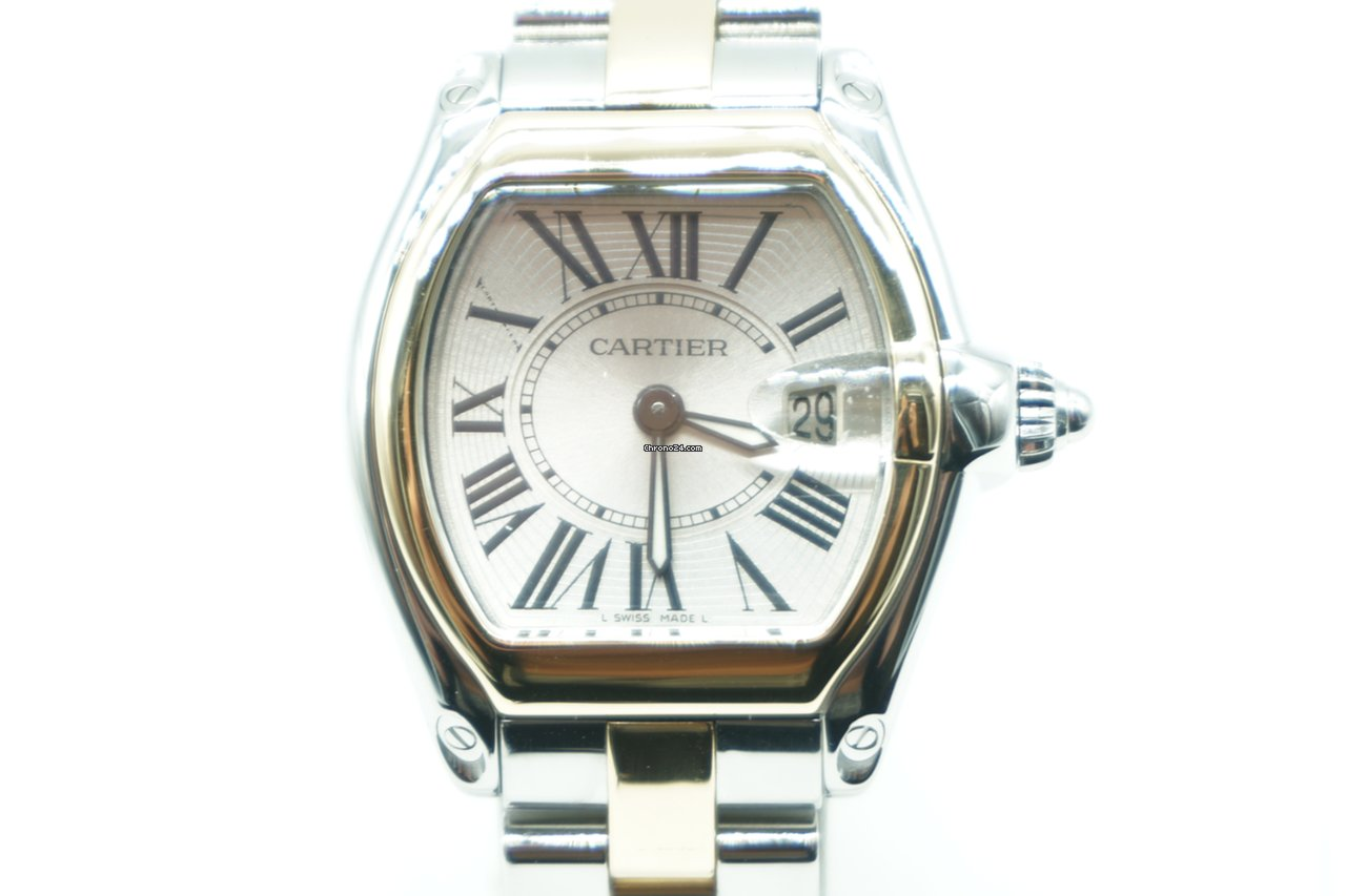 Cartier Watches Cartier Roadster Two Tone Gold Steel 2675