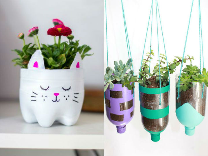 Ideas Para Decorar Mi Casa Como Hacer Macetas Con Botellas Pet