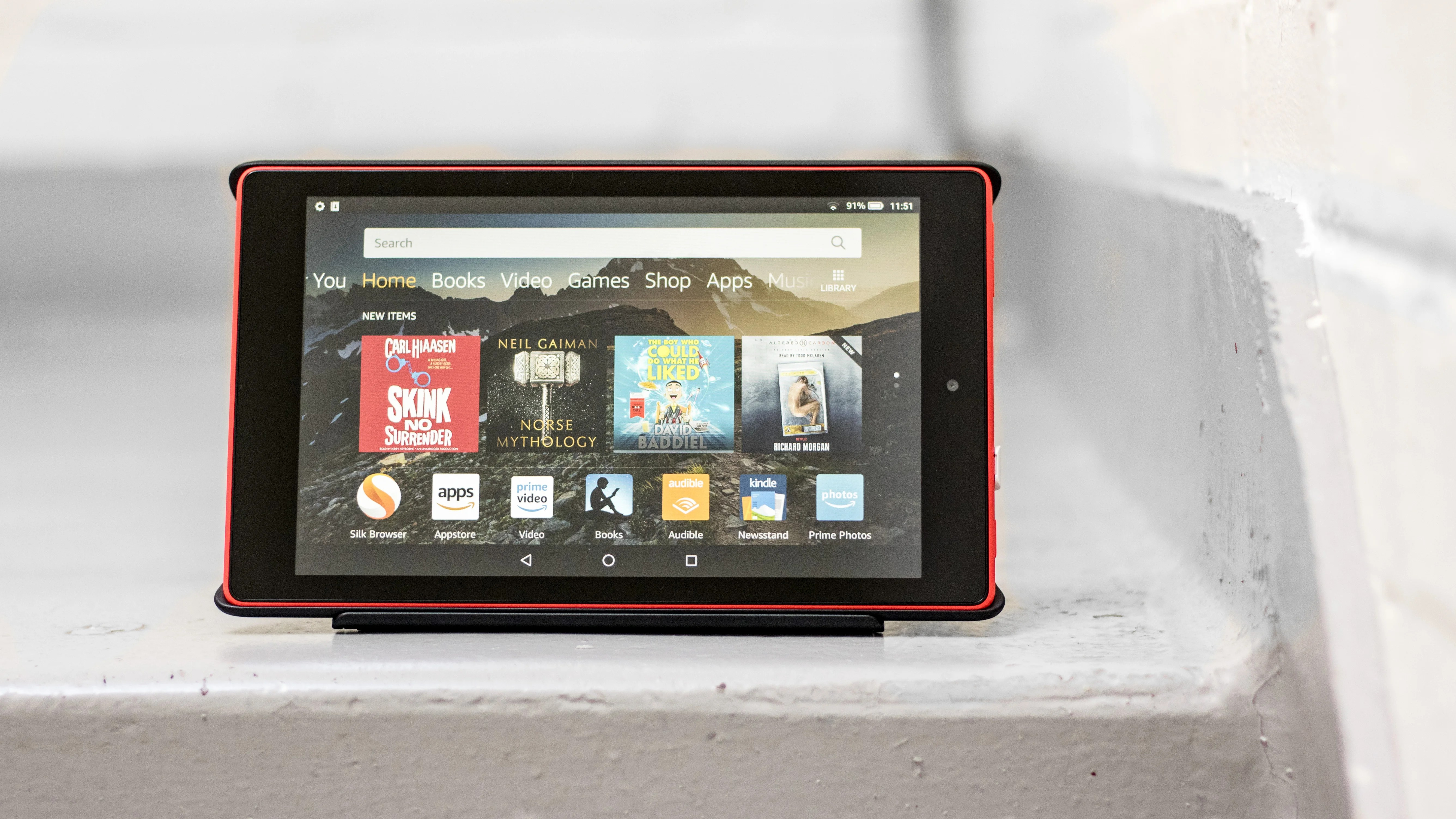 Amazon Uk Books Amazon Fire Hd 8 2018 Review A Budget Tablet Show Off Expert