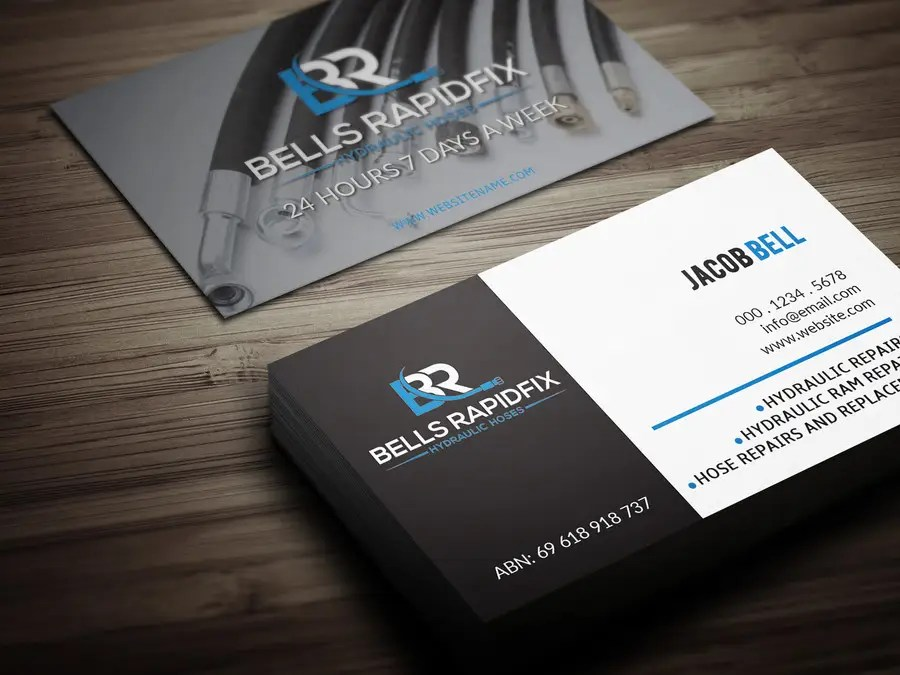 Entry #79 by Fgny85 for Design front and back business cards and