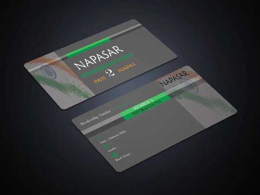 Entry #23 by bluedogdesign for Members Card Design Freelancer