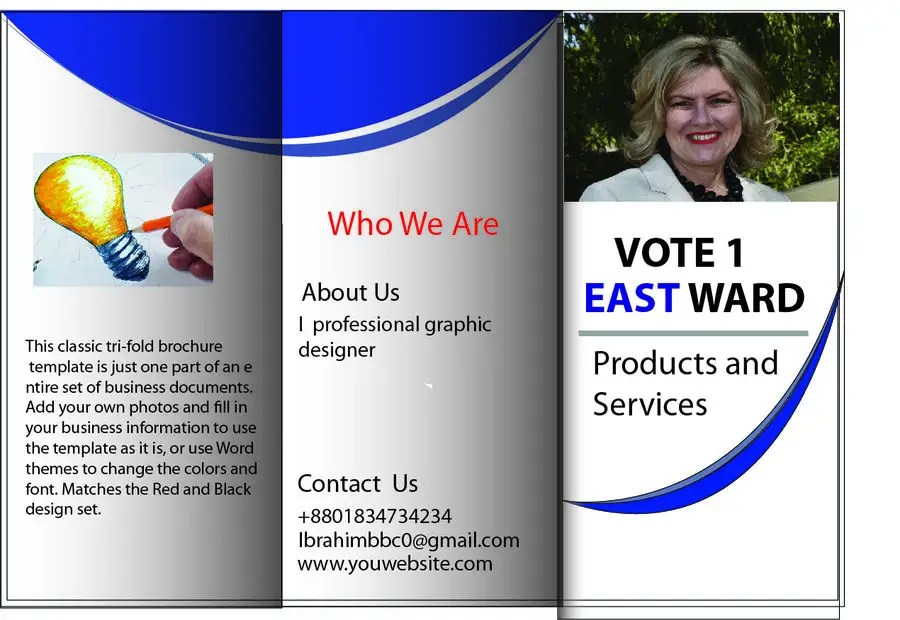 Election Pamphlet Template Choice Image - Template Design Ideas