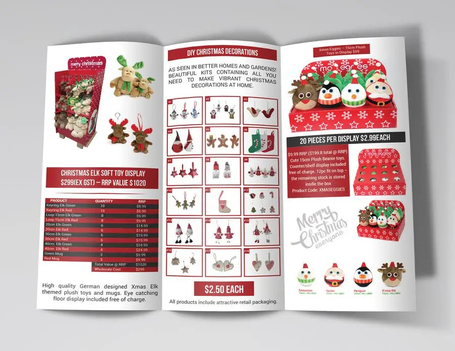 Entry #5 by cfbutterfly for Create a Christmas Themed Tri-Fold - create tri fold brochure
