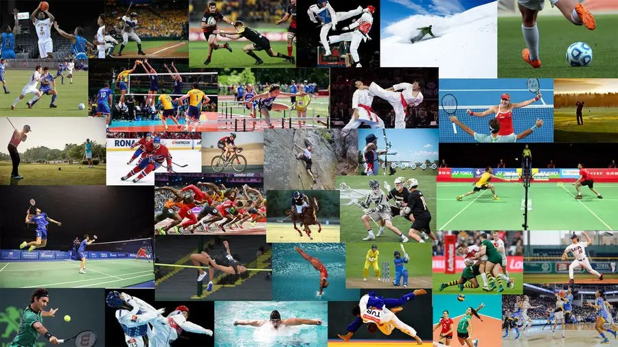 Entry #1 by jgonzales03 for picture collage of many sports for