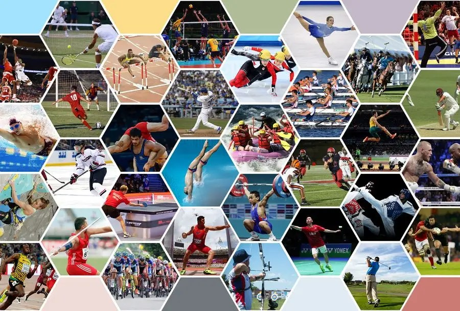 Entry #6 by wayannst for picture collage of many sports for website
