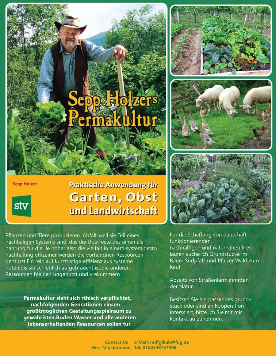 Permakultur Garten Was Ist Das Entry 46 By Sharufhossain For Design A Flyer For Permakultur