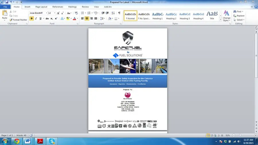Entry #4 by mithusajjad for Design Proposal Cover Template in MS
