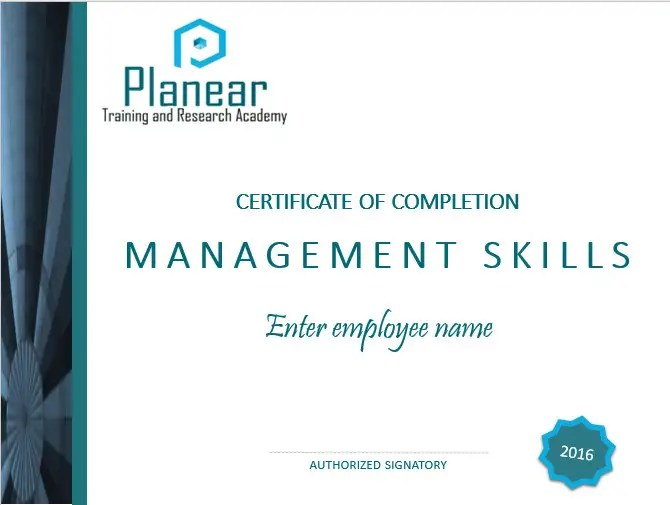 Entry #21 by whiggins for Design a Course Completion Certificate for