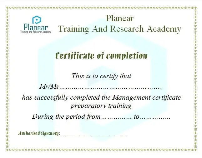 Entry #27 by madrdesigns4u for Design a Course Completion - certificate of completion training