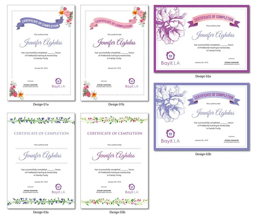 Make A Certificate Of Completion Colbro