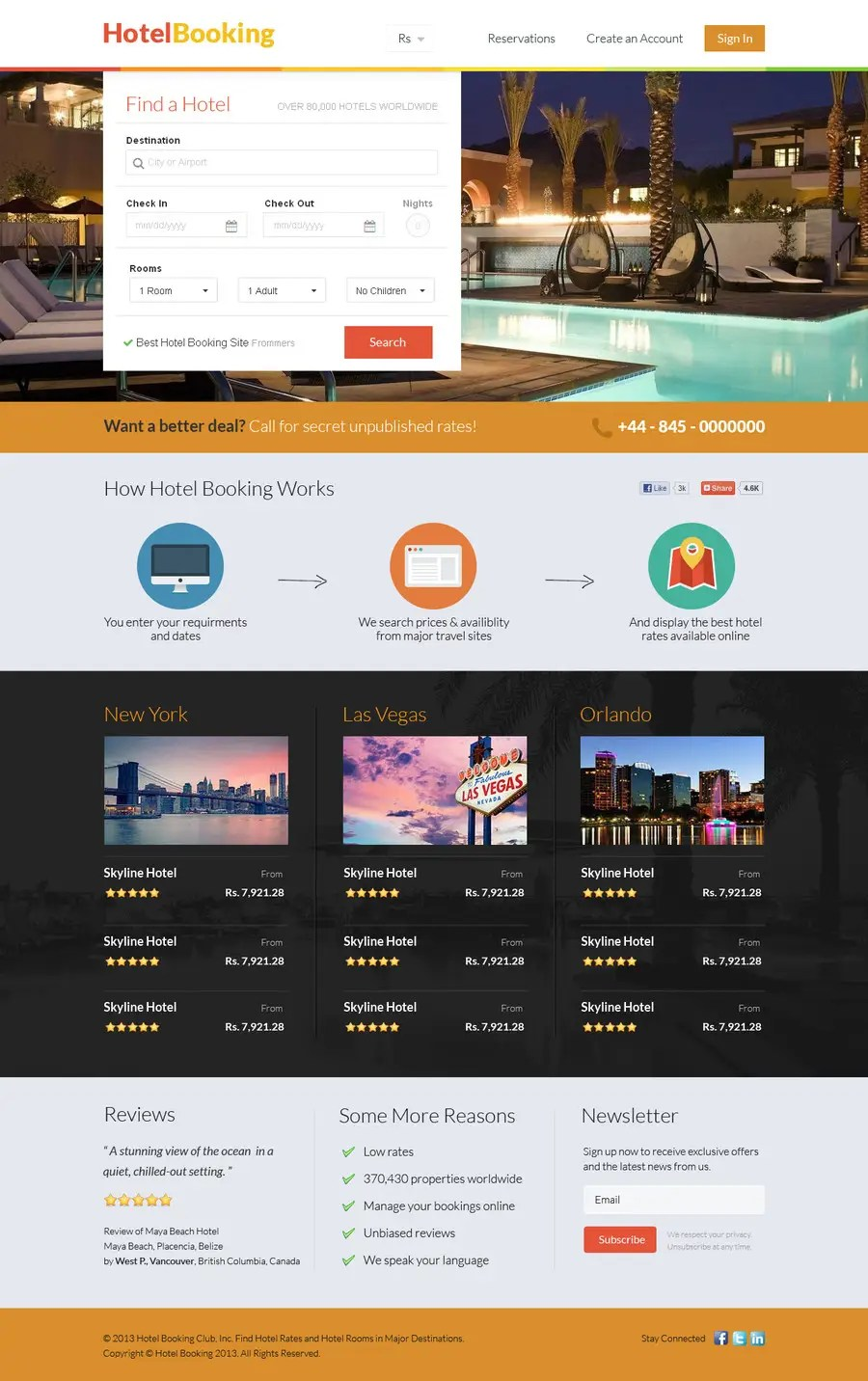 Booking Site Entry 22 By Uniqueclick For Hotel Booking Website Mockup Freelancer